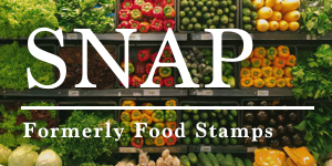 SNAP - Formerly Food Stamps